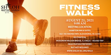 Woodrow Wilson Fitness Walk tickets