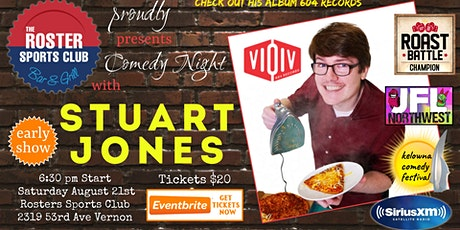 EARLY SHOW: The Roster  Rolls Out the Laughs-  with Comedic Stuart Jones tickets