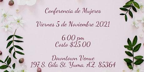 Conferencia de Mujeres tickets