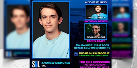 Andrew Dismukes headlines Brooklyn Comedy Show tickets