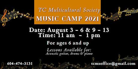 Music Camp 2021 tickets