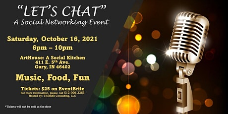 """""""Let's Chat"""" - A Social Networking Event tickets"""