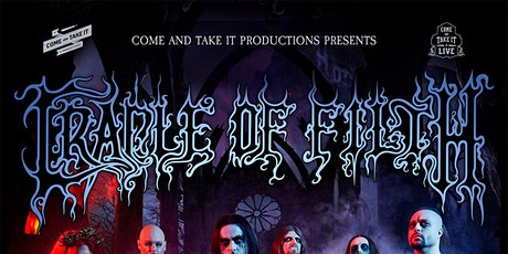 CRADLE OF FILTH: Lustmord and Tourgasm tickets
