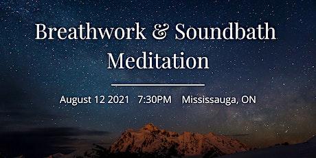 Breathwork and Sound Bath Meditation tickets