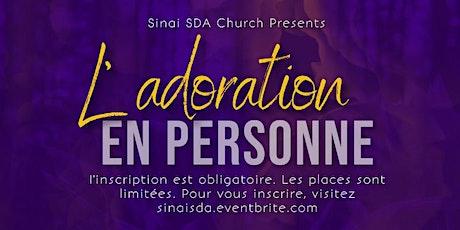Sinai SDA In-Person Church Service 7:30 AM tickets