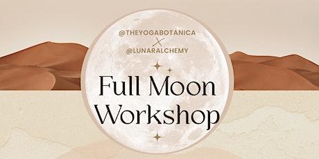 Aquarius Full Moon Workshop tickets