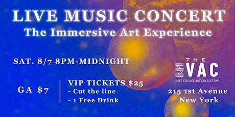 LIVE MUSIC CONCERT: The Immersive Art Experience tickets