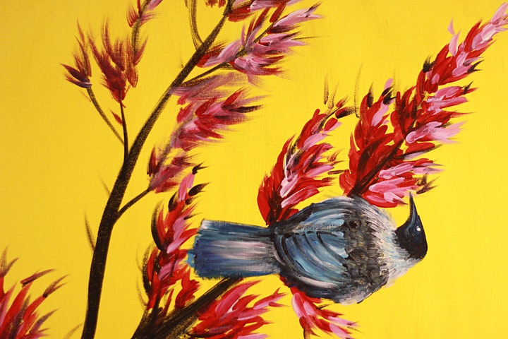 Chill & Paint Sat  5pm @Auckland City Hotel - Tui on Flax! image
