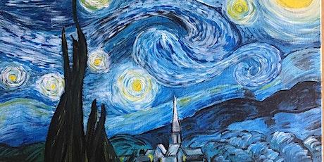 Chill & Paint Sat Arvo 5pm@Auckland City Hotel - Van Gogh Starry Night! tickets