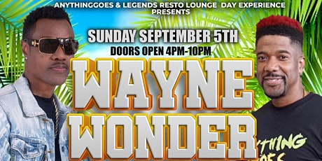 Anything Goes Day Party w/ Wayne Wonder in Orlando tickets