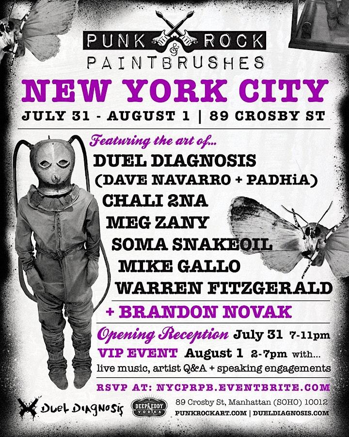 PUNK ROCK & PAINTBRUSHES NEW YORK CITY image