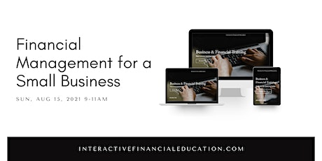 Financial Management for a Small Business tickets