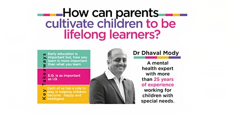 HOW CAN PARENTS CULTIVATE CHILDREN TO BE LIFE LONG LEARNERS tickets