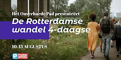 De Rotterdamse wandel 4-daagse tickets