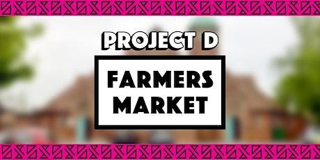 Farmers Market x Project D tickets
