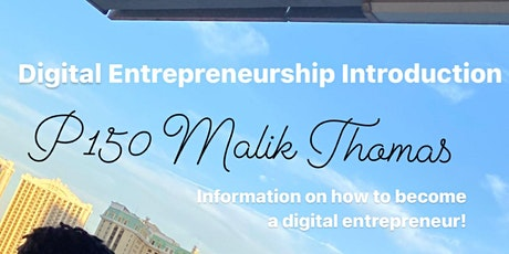 Digital Entrepreneurship Introduction tickets