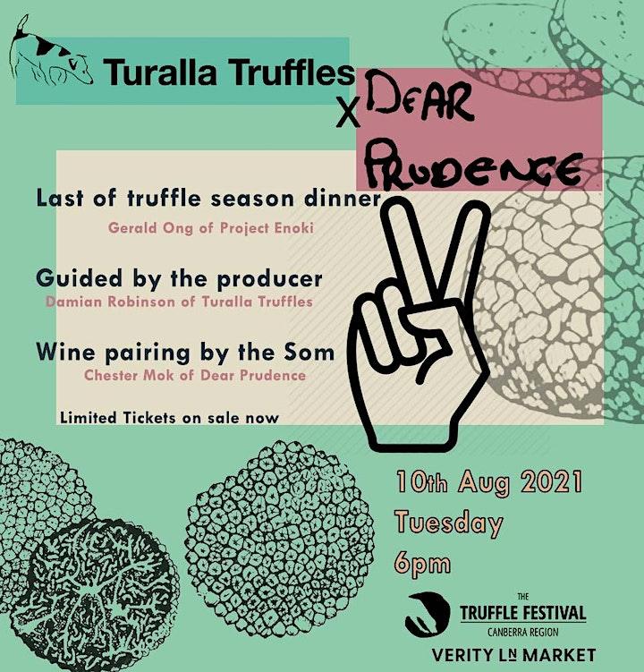 Turalla Truffles X Dear Prudence Dinner 2: Last of the Truffle Season image