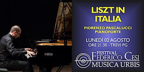 Liszt in Italia biglietti
