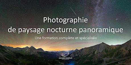 La photographie de paysage nocturne panoramique billets