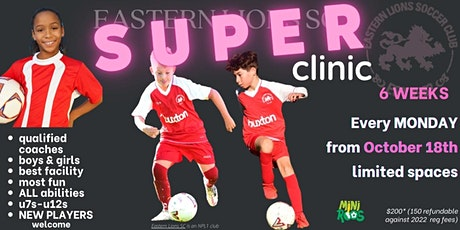 Eastern Lions Super Clinic  6 Week Coaching Clinic tickets
