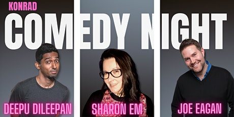 Comedy Night at Konrad Cafe tickets