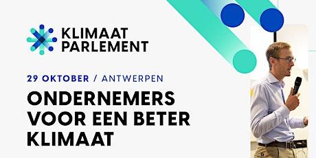 Klimaat Parlement 2021 billets