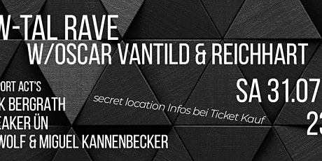 W TAL RAVE w/OSCAR VANTILD B2BNICK BERGRATH tickets