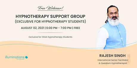 Free Webinar: Hypnotherapy Support Group tickets