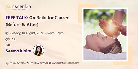 Free Talk: On Reiki for Cancer (Before & After) with Seema Klaire tickets