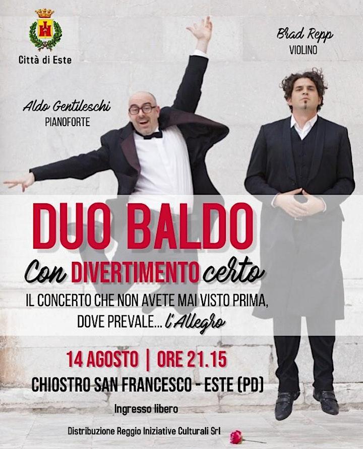 Immagine ConDIVERTIMENTOcerto - Spettaccolo del DUO BALDO