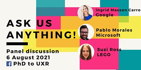 Ask Me Anything (AMA) - UX Researcher Edition! tickets