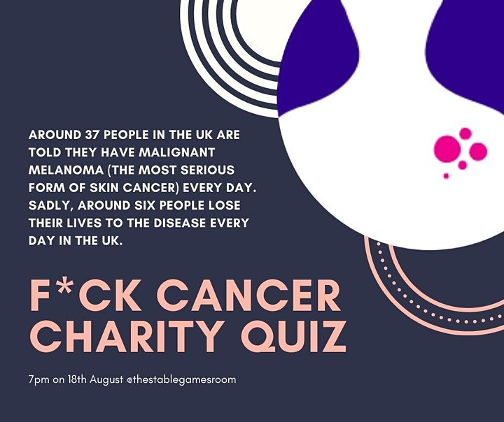 F*ck Cancer Charity Quiz Night image