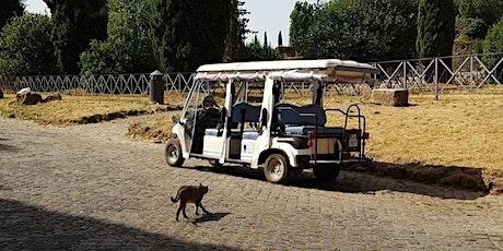 In minicar sull'Appia Antica (per over 65 e disabili) biglietti