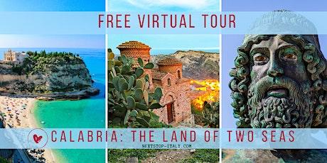 SOUTH ITALY: CALABRIA VIRTUAL TOUR biglietti