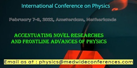 International Conference on Atomic Physics, Astrophysics & Nuclear Physics tickets