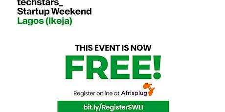 Techstars Startup Weekend Lagos tickets