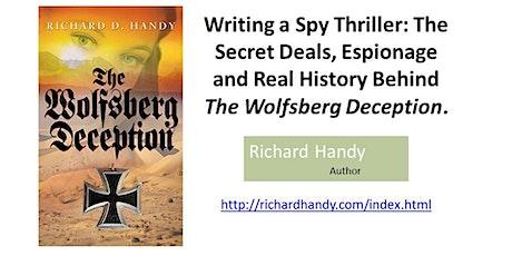 Writing a Spy Thriller: The Wolfsberg Deception tickets
