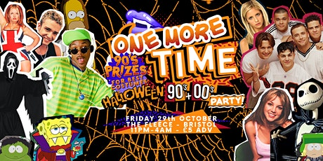 One More Time - Halloween 90's & 00's Party tickets