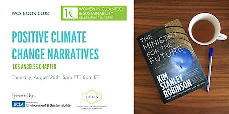 Women in Cleantech LA: Positive Climate Change Narratives - WCS Book Club tickets