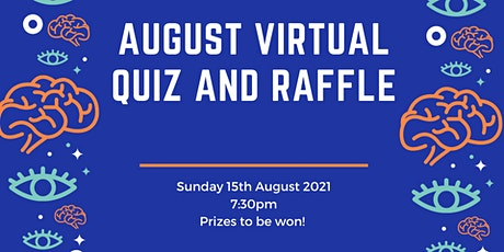 August Virtual Quiz and Raffle Fundraiser tickets