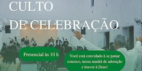 Culto de Celebração (Manhã) ingressos