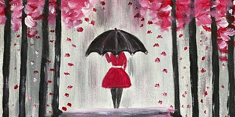 """Paint Along ONLINE @ Home """"Rainy Day"""" tickets"""