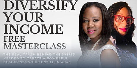 Diversify Your Income FREE Masterclass tickets