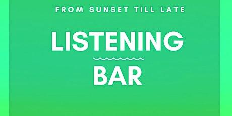 Listening Bar || TOMAS STATION & friends at Le Palme Beach biglietti