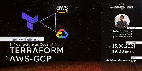 Infrastructure as Code with Terraform on AWS-GCP tickets