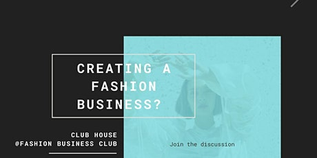 Clubhouse Session: Inclusive Fashion: What, how & why? tickets
