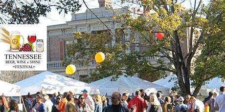 11th Annual TN Beer, Wine & Shine Festival, October 16, 2021, Noon-5pm tickets