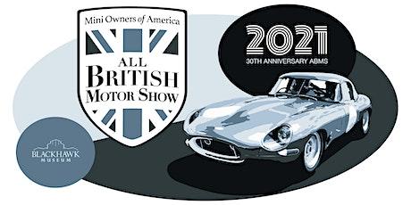 2021 MOASF - Blackhawk All British Motor Show tickets