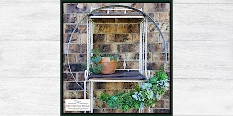 Wine Barrel Band Succulent Wreath Class tickets