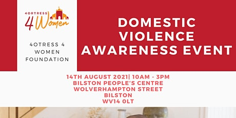 DOMESTIC VIOLENCE AWARENESS EVENT tickets